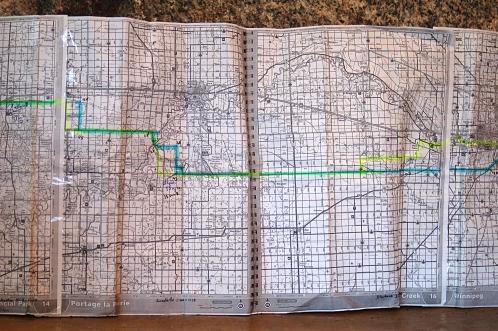 13 - Portage map