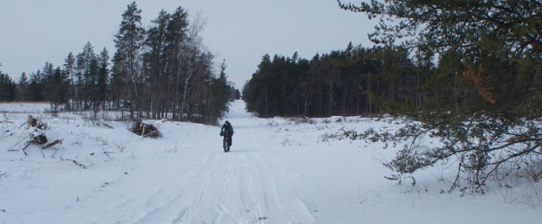 The conditions on the trails were soft but manageable