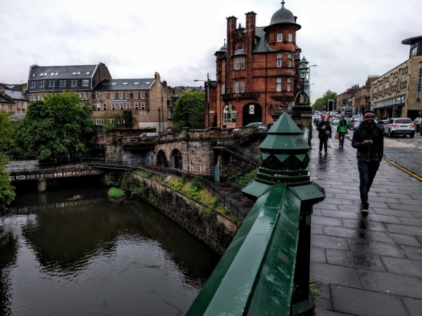 Wandered around Glasgow for a day before heading to the race start