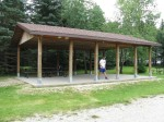 Pembina Valley Provincial Park checkpoint