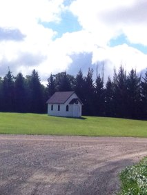 A small church we found along the way.